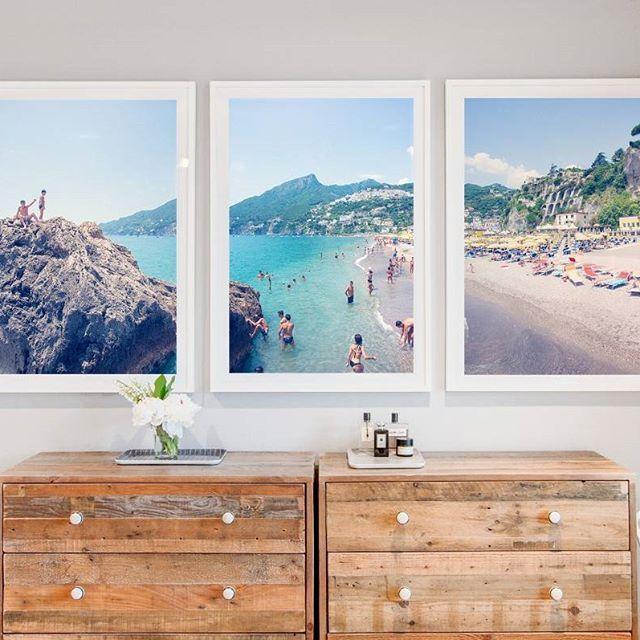 Display Lighting Artwork Living Room Triptych