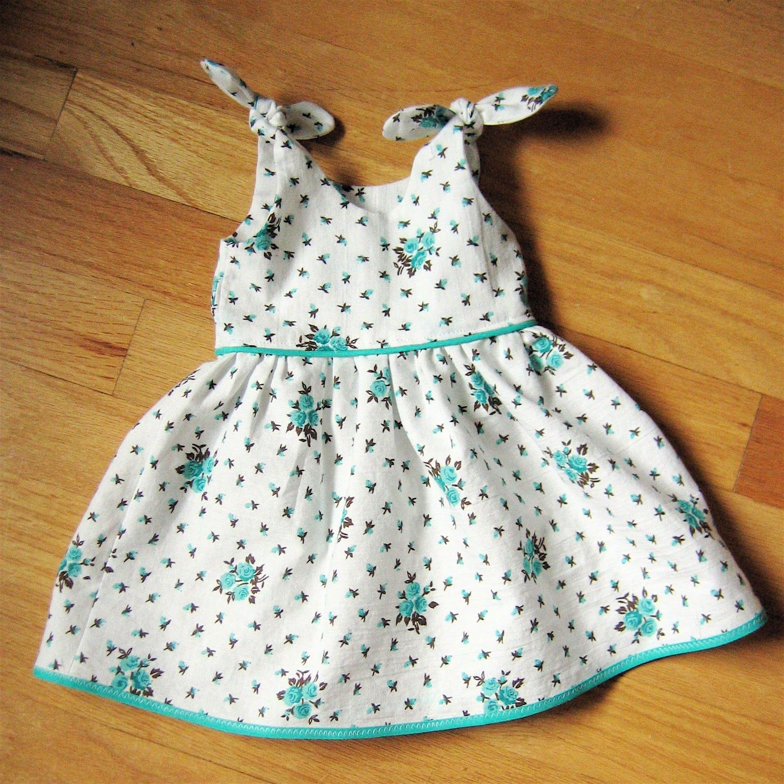 Perfect for 18baby dolls american girl doll clothes free itty bitty baby dress pattern for newborn girls jeuxipadfo Image collections