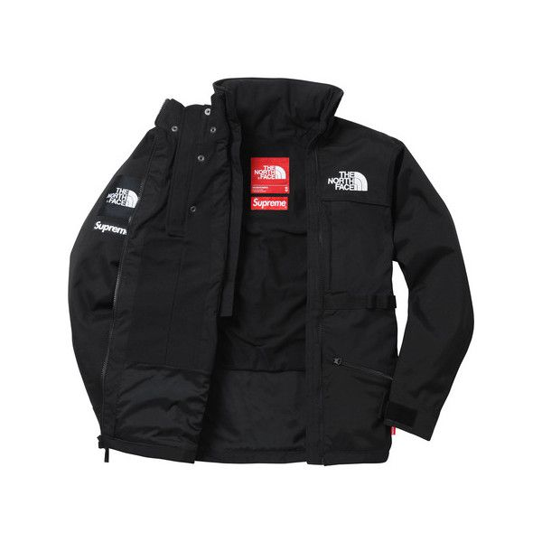 ... canada supreme supreme the north face steep tech hooded jacket 388  liked on polyvore featuring the 460e61b91