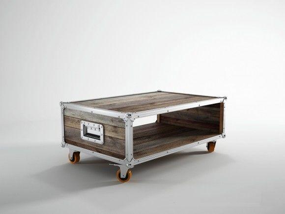 Coffee table road case 16x35x17 kif kif import meubles en bois et
