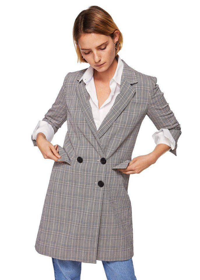 mit in 2019ME Strukturierter mantel karomuster Damen 1FcuTK35lJ