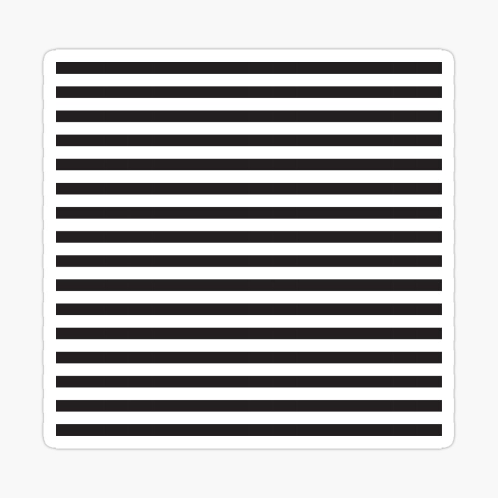 Black And White Stripes Horizontal Lines Canvas Print By Kallyfactory Redbubble In 2021 Black And White Lines Black And White Stripes