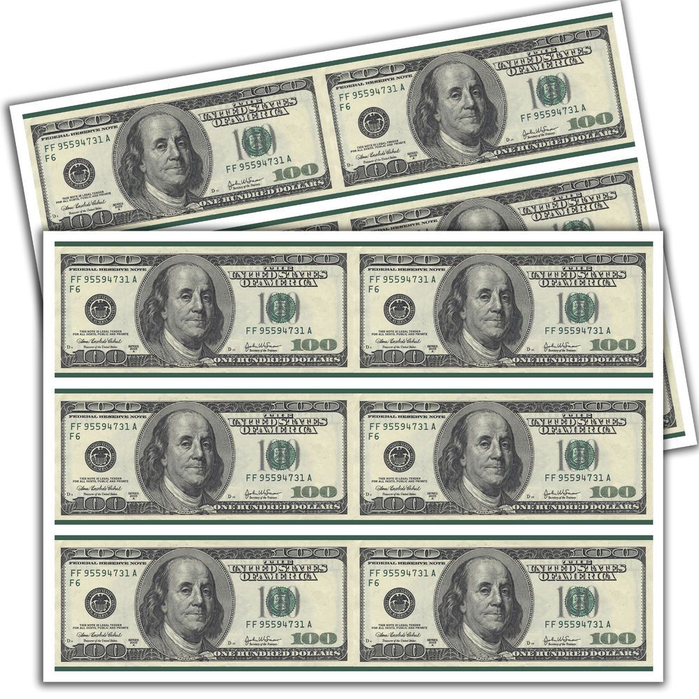 Edible Dollar Bill Cake Strips Topper Birthday Party Wafer Paper Sheet 2 4x10 Dollar Bill Cake Wafer Paper Money Cake