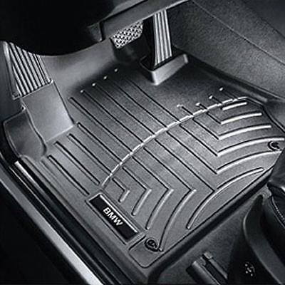 Bmw Black All Weather Floor Liners 2006 2013 328i 330i Sedans Wagons 82112220870 Floor Liners Weather Fronts Bmw Black