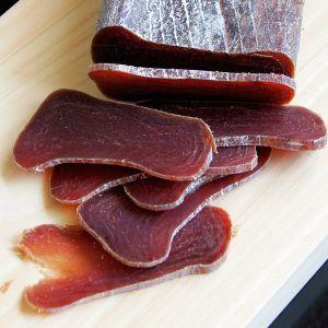 楽天市場 ムシャーメ マグロの熟成生ハム 不定貫 約400g 蔵 不定