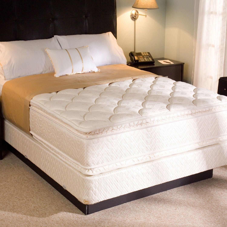 Serta Presidential Suite Pillowtop Hotel Mattress Queen 2 Pk Sam S Club