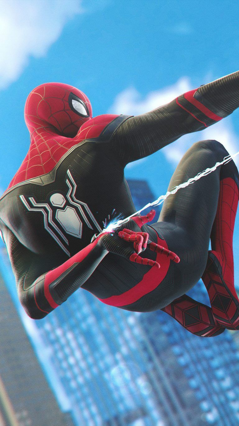 Download Spider Man Far From Home Ps4 Free Pure 4k Ultra Hd Mobile Wallpaper Marvel Comics Wallpaper Marvel Superhero Posters Marvel Spiderman