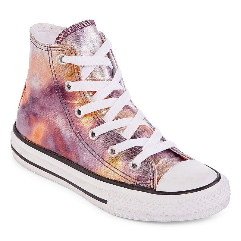 911b24e93cb0 Converse Chuck Taylor All Star Metallic Girls Sneakers - Little Kids ...