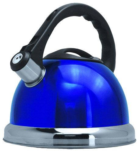 Better Chef 3l Whistling Tea Kettle Blue