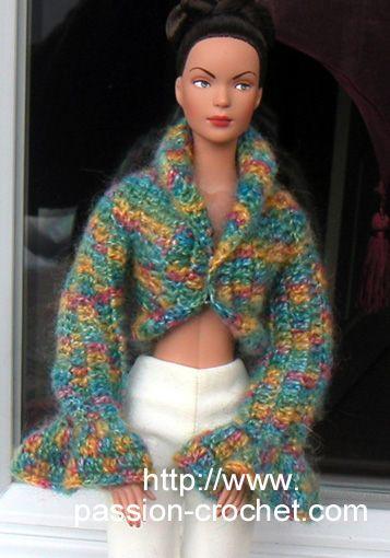 Bolero crochet doll Tyler-hit translate for free pattern