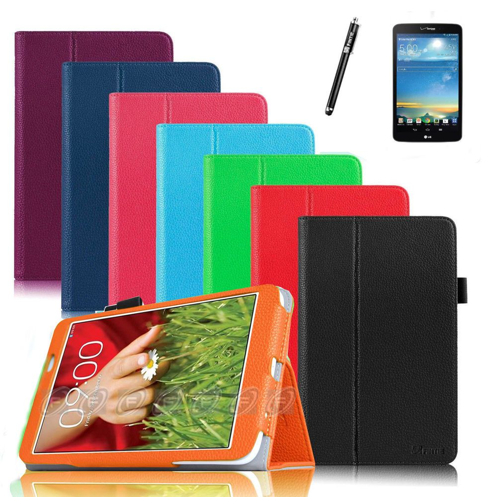 PU Leather Case Cover Accessories for LG G Pad Verizon 4G