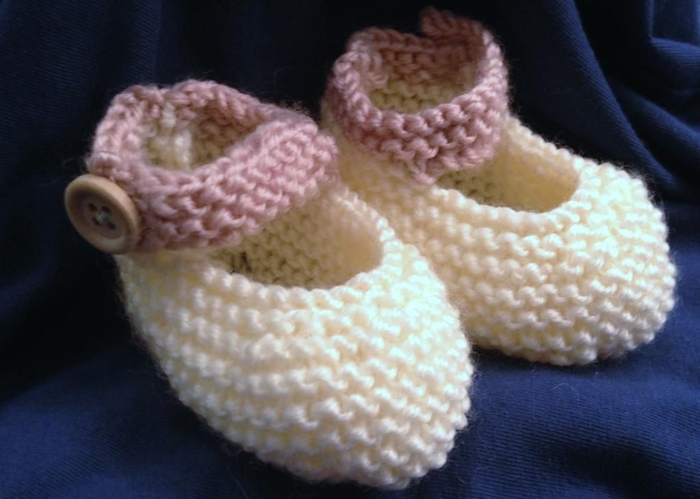Freepatternbabymaryjane Baby Mary Jane Booties Crochet