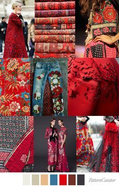 SS2018 - SCARLET FEVER – Pattern Curator