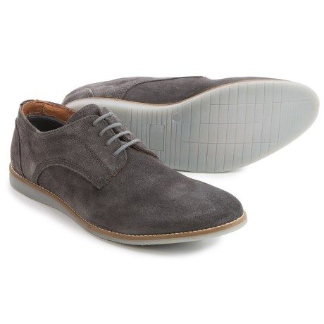 Men Oxfords Lace ups Hawke Co Men Grey Shoes Online