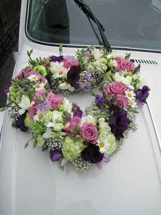 Auto Blumenschmuck Standesamt
