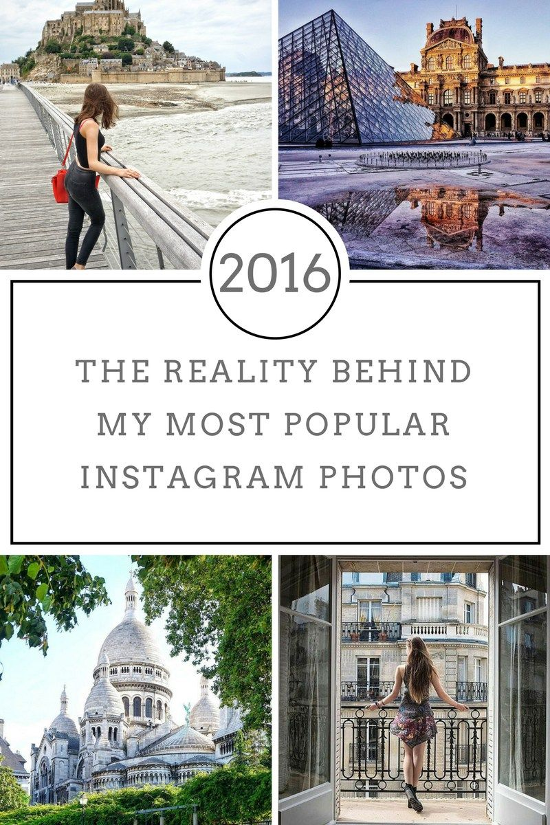 Reality Behind My 9 Most Popular Instagram Posts From 2016 Most