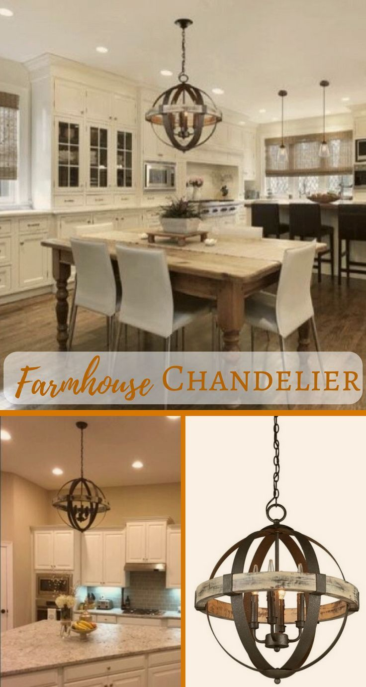 I love the industrial and rustic look of this farmhouse