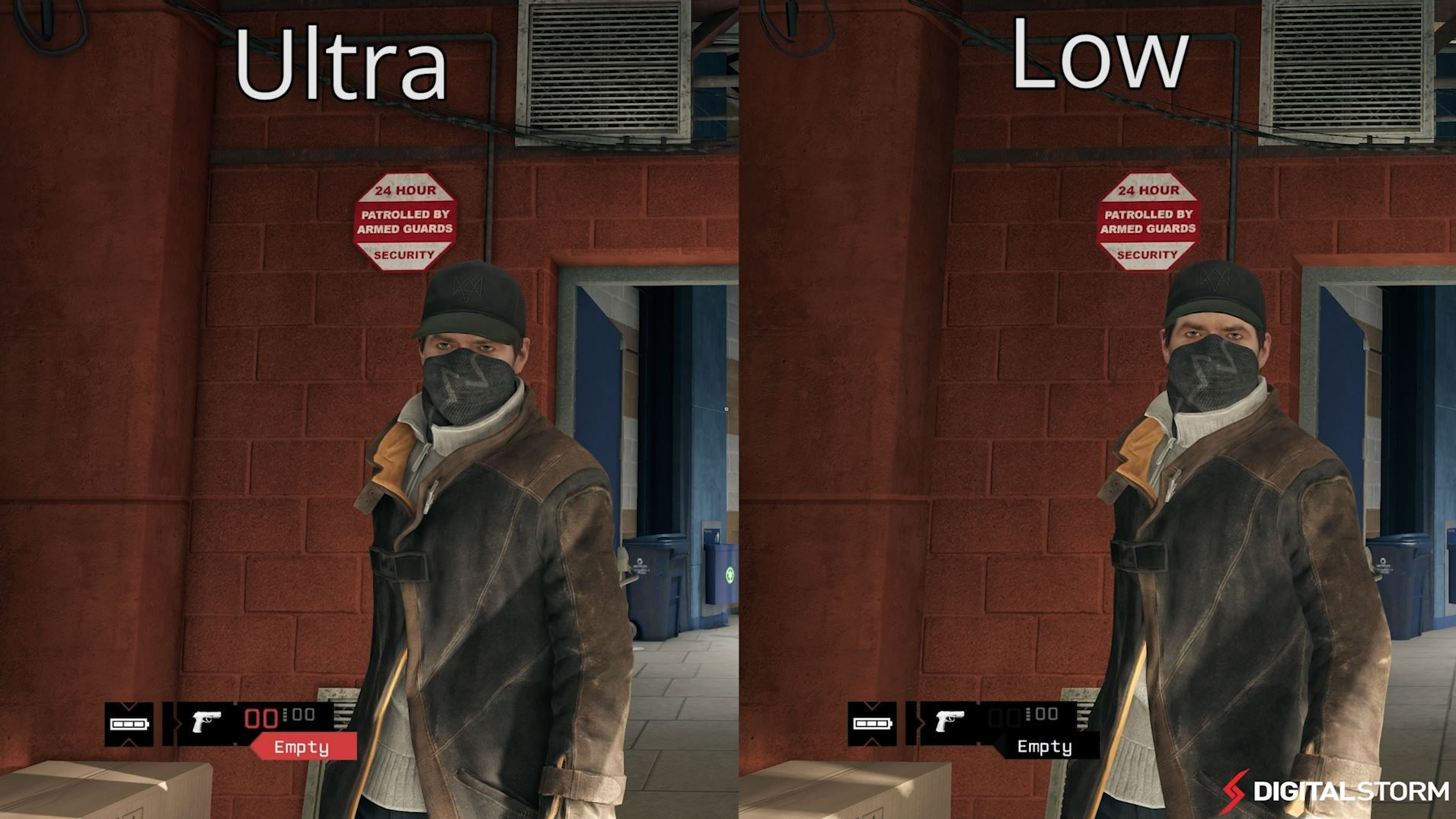ad1fe0daac Watch Dogs Graphics Comparison (Ultra to Low) PC