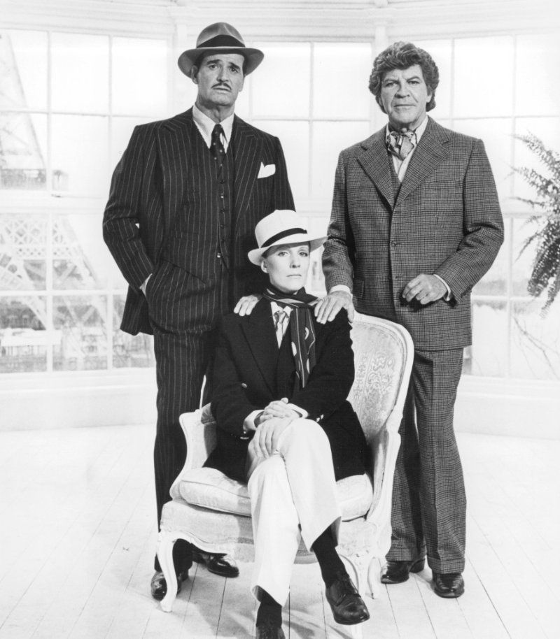 "Julie Andrews, James Garner and Robert Preston in ""Victor Victoria"" (1982)"