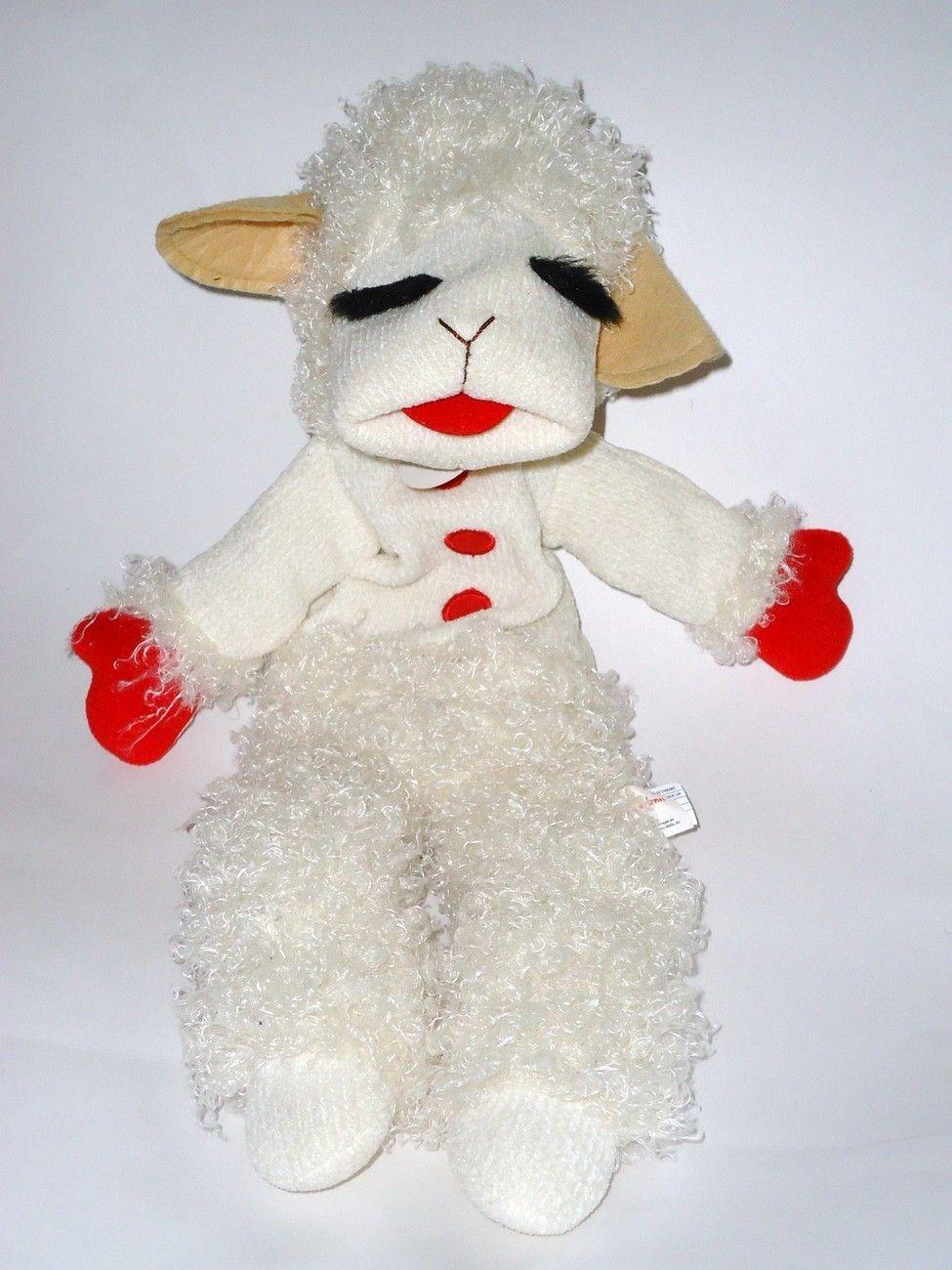 Talking Lamb Chop Sheep Hand Puppet Shari Lewis Aurora Tags Hand
