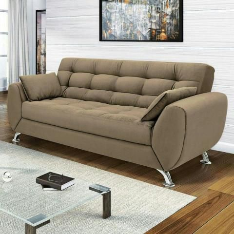 Sofa New 3lug Tecido Suede 899 00 Sofa Design Fabric Sofa Design Modern Sofa Designs