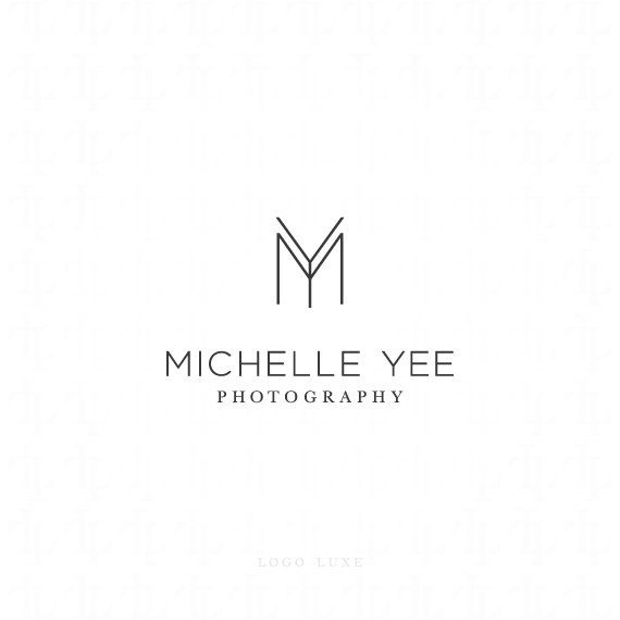 I like this simple well thought out design because of how the letters m and y are put together. I think it works well.