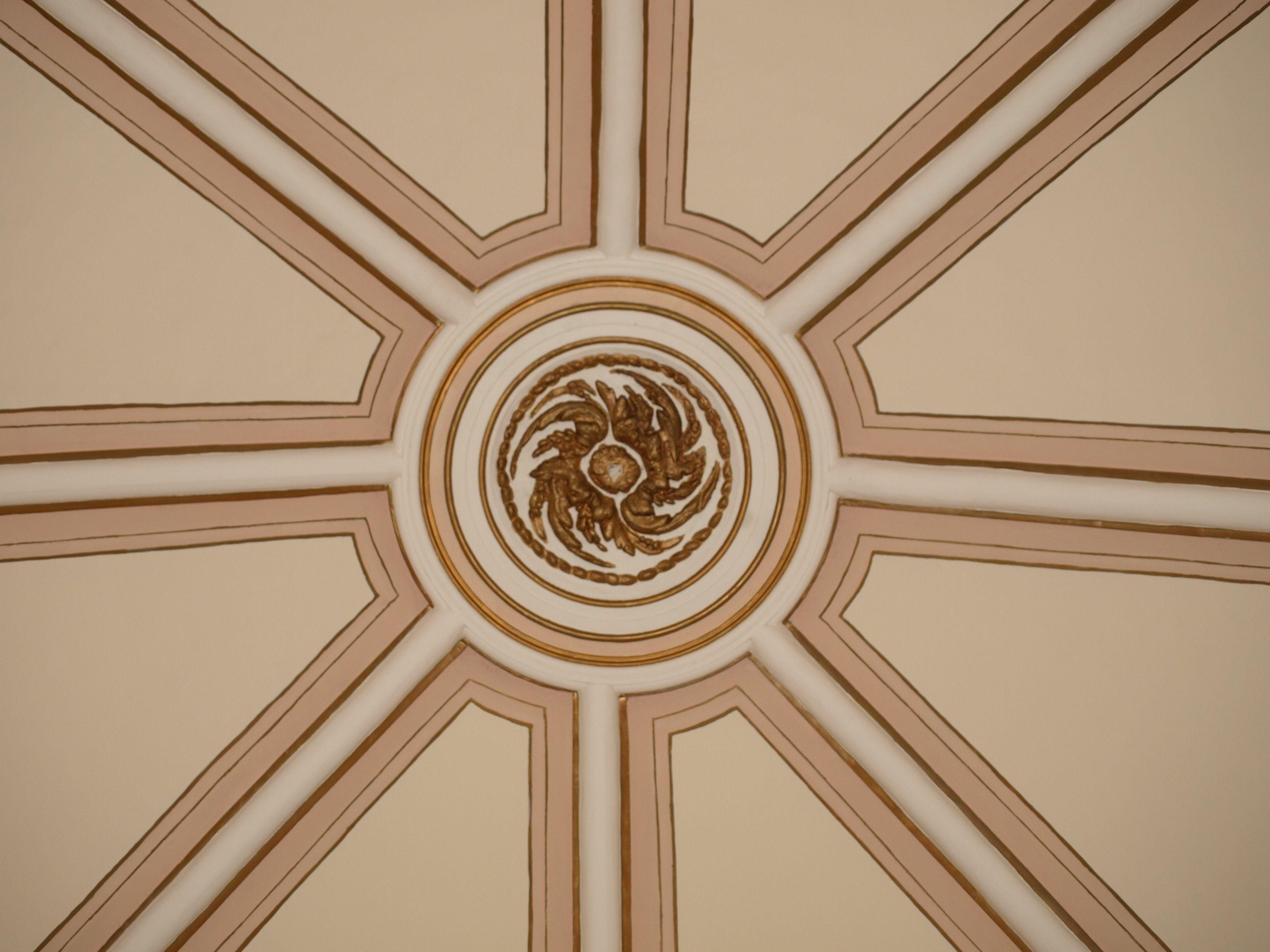 detalle de la cúpula de la ermita de San Miguel