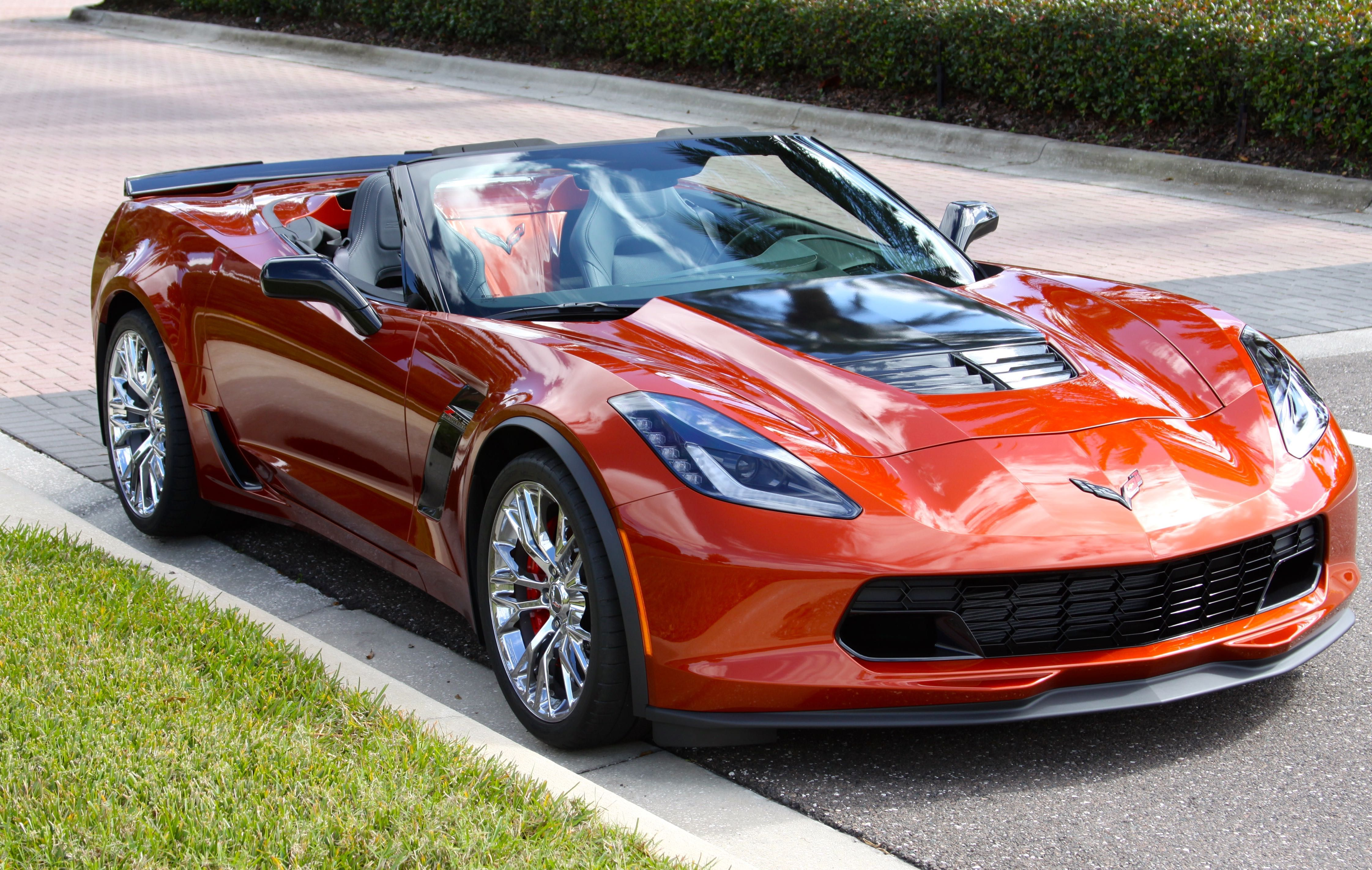 Delicieux 2015 Corvette Z06 Convertible   Daytona Sunrise Orange Metallic