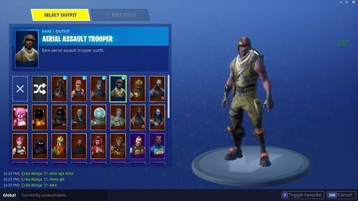 fortnite rare account