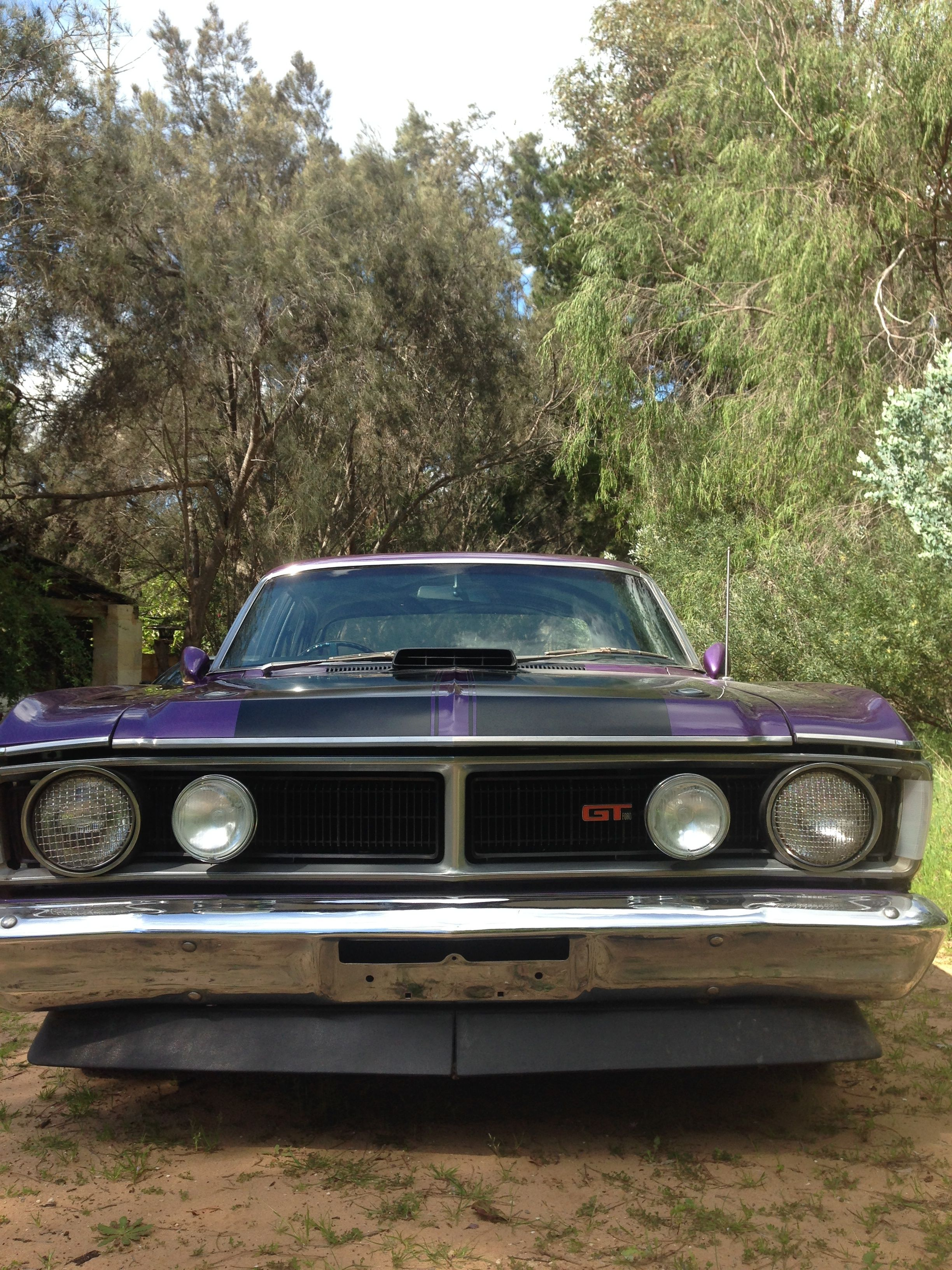 1971 Xy Ford Falcon Gt Ho Phase 3 Shaker 351 Cleveland Motor