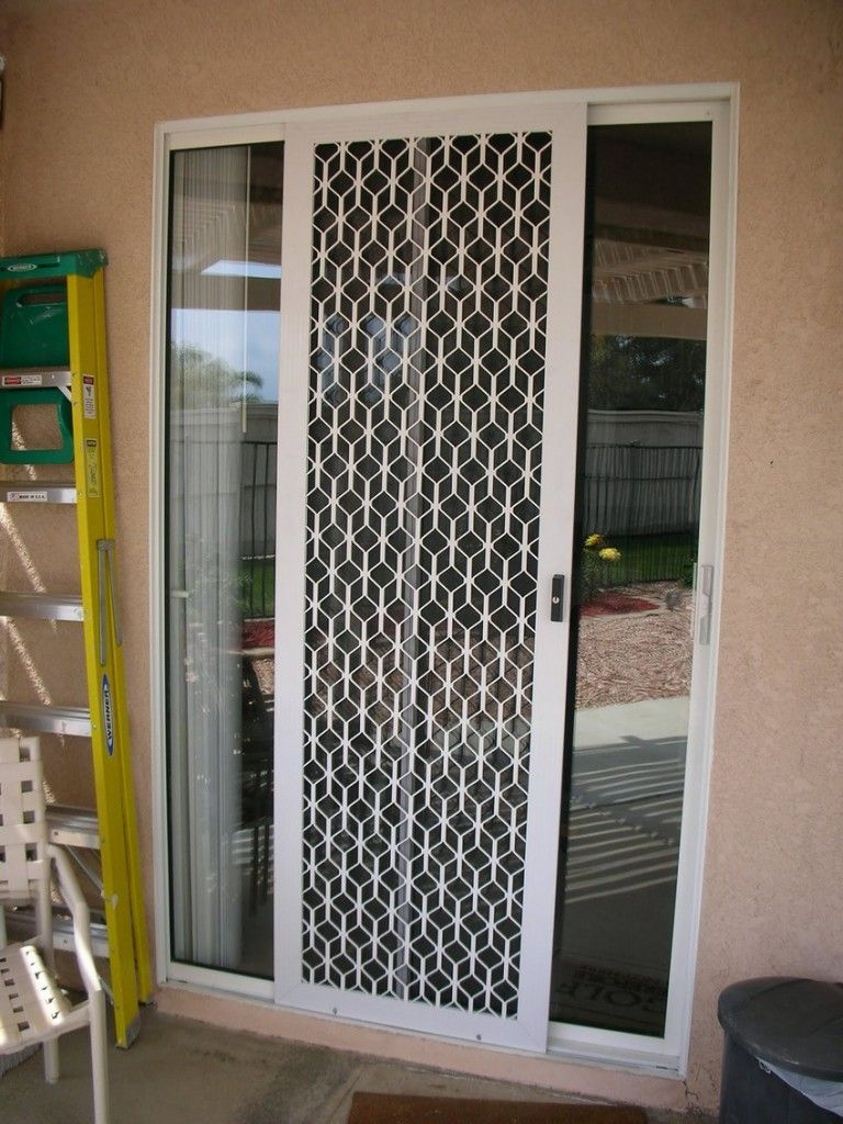 Are There Security Screen Doors For Sliding Glass