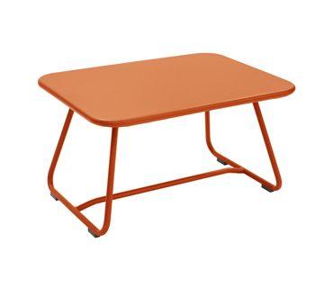 Niedriger Tisch Sixties Gartentisch Aus Metall Gartenmobel