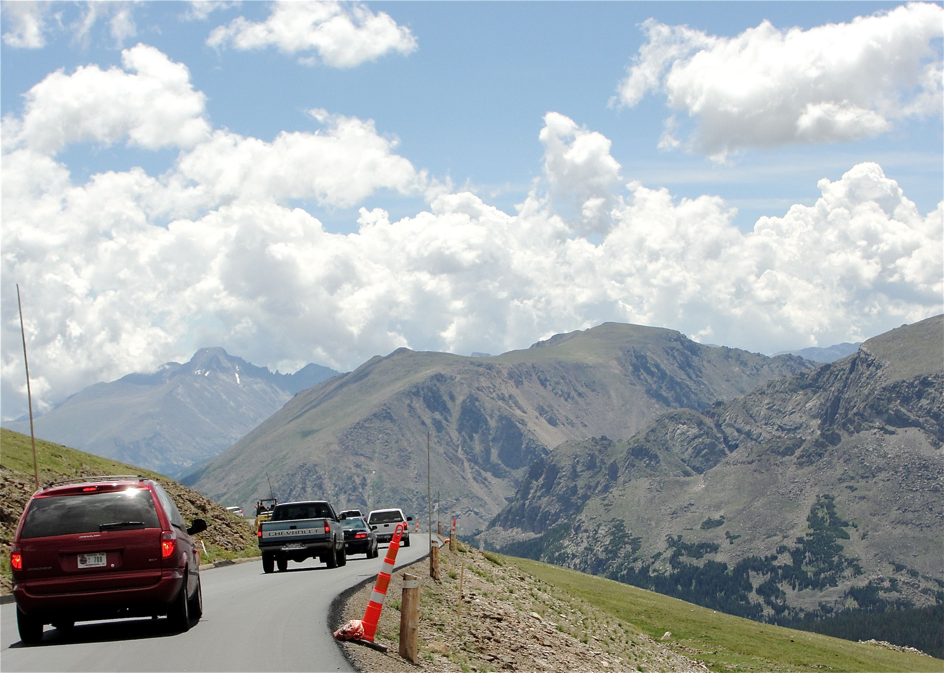 Colorado boasts the highest continuously paved highway in