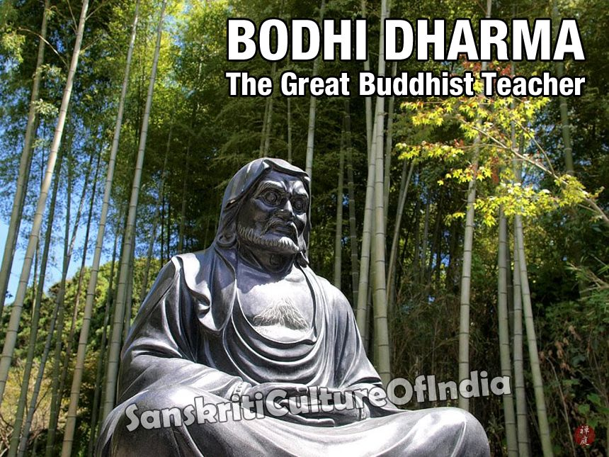 Bodhidharma, The Great Buddhist Teacher (With images