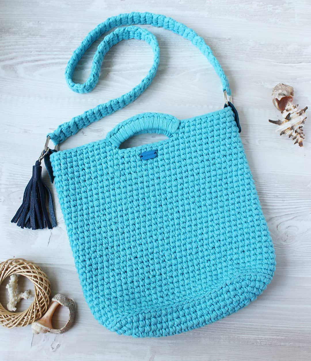 7902488b3e25 Отличный, вариант вместительной летней сумки! Сумочка продана. Надеюсь  скоро получить фото на модели, #вязаниеукраина #сумка…