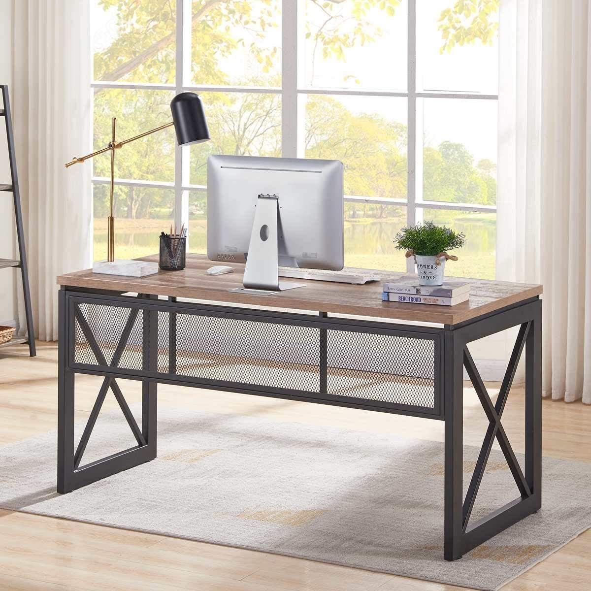 Farmhouse desks rustic desks farmhouse goals in 2020