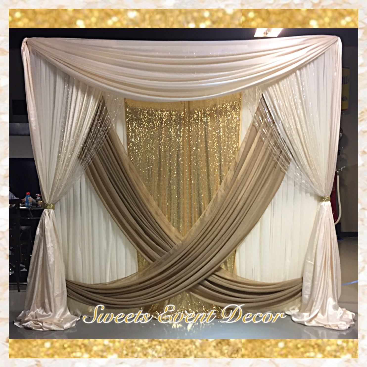 Wedding Draping Decor By Sweets Event Decor Tent
