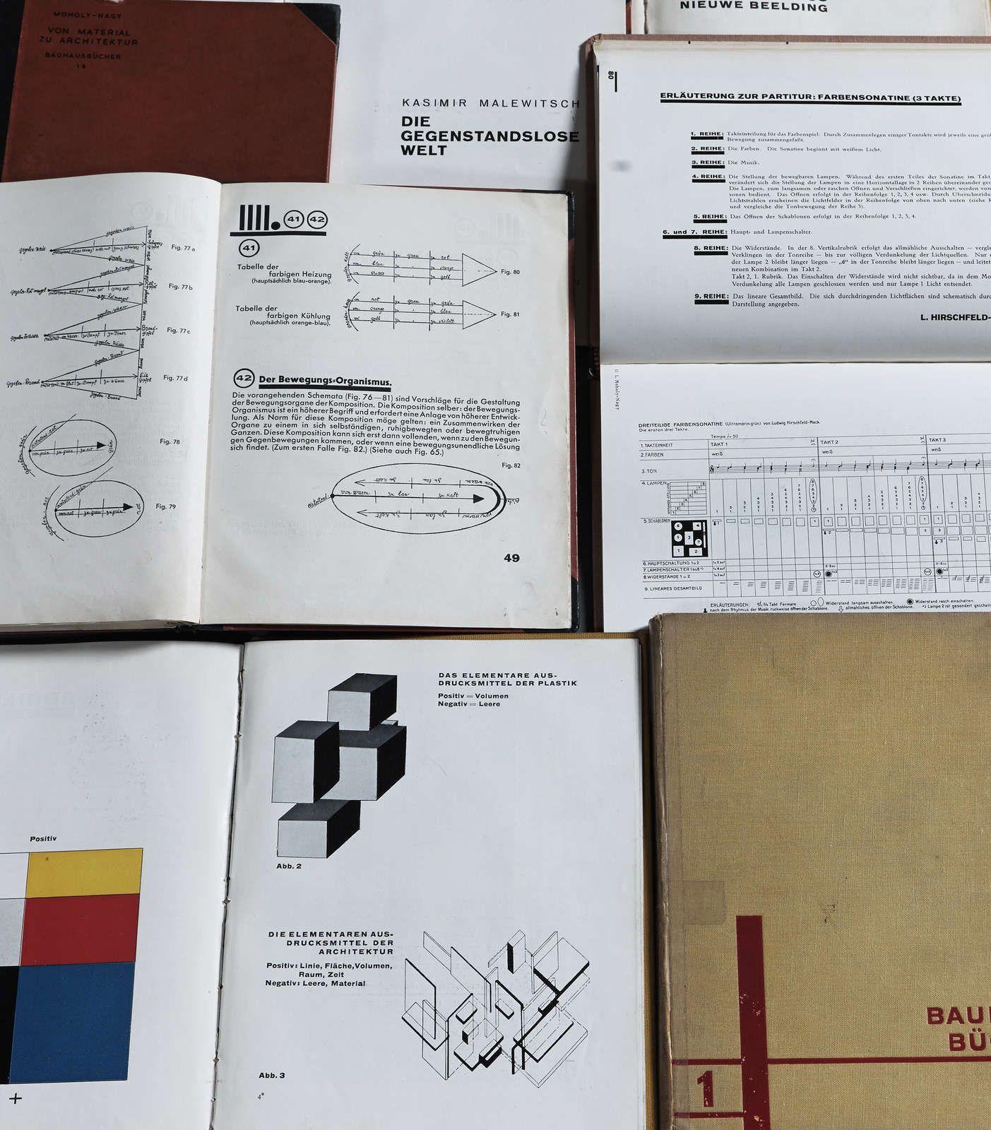Bauhausbücher, 192530 Kunstbib.dk (con imágenes) Escuela