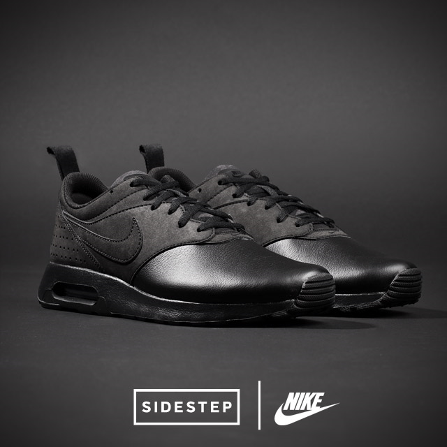 new style d0f61 832f0 Nike Air Max Tavas Leather  SIDESTEP