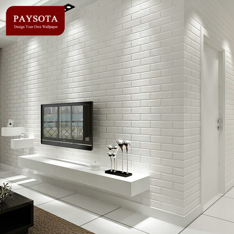 28 05 Watch Here Http Ali3zf Shopchina Info Go Php T 32798475779 Paysota Non Wove Brick Wall Bedroom Dining Room Wallpaper White Brick Wall Living Room