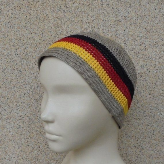 13e48b10 Germany flag hat Cotton skullcap Black red yellow hat Germany gift ...