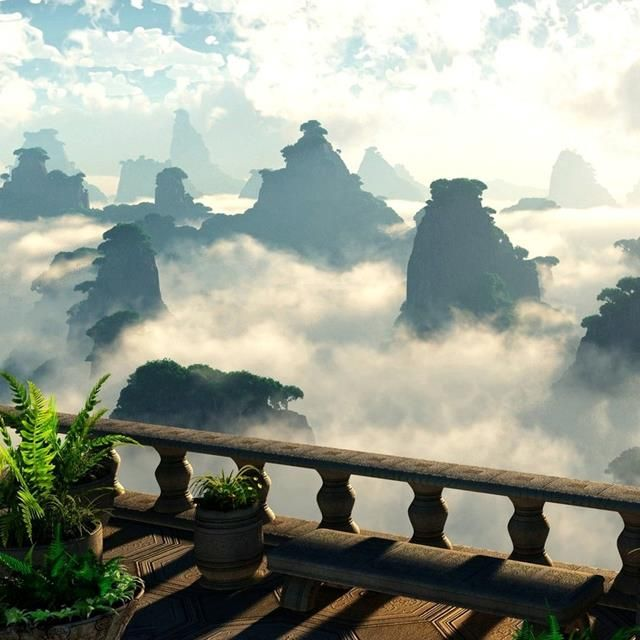 Zhangjiajie National Park, China    ::        It is China's first national forest park. Amazing peaks and beautiful rocks formations are concentrated in 6 main scenic spots and over 90 smaller ones.One of most beautiful nature areas in Chine.