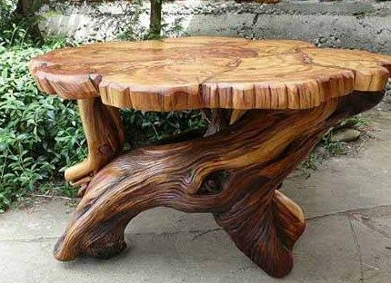 Tables de jardin originales, insolites, recyclées | Elegant | Table ...
