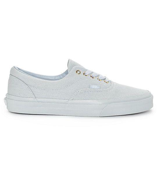 2c5553935c Vans Era Gold Mono High Rise Grey Skate Shoes Vans Skate Shoes