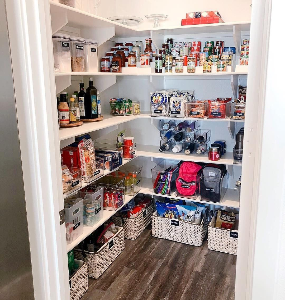 A Multipurpose Pantry Is The Best Kind Of Pantry We Riorganize S Use Of Space To Inclu Home Storage Solutions Kitchen Hacks Organization Apartment Room