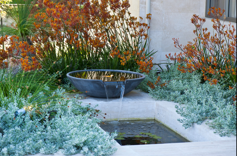 Entry Water Feature The Dalkeith Garden in Perth ...