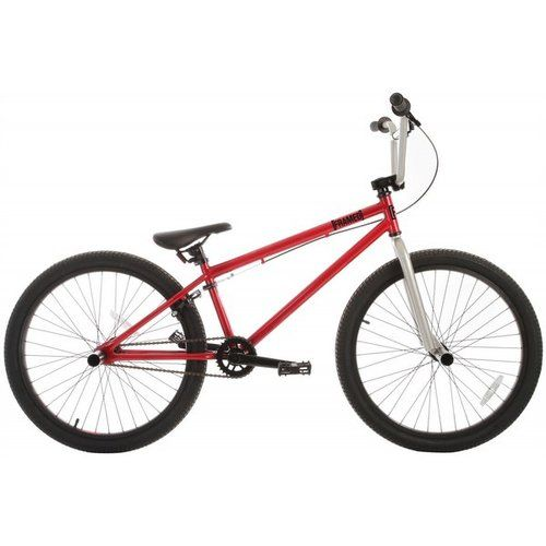 Framed Fx24 Bmx Bike Red Silver 24 X Games Bmx Skate
