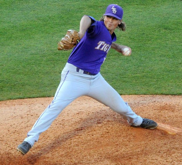 Lsu S Chris Cotton Named Sec Tournament Most Valuable Player With All Tournament Team Inside Youth Baseball Gloves Espn Baseball Lsu Baseball
