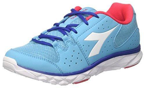 Diadora 101.160500 - Chaussures, Azzurro/Blanc, Taille 45.5