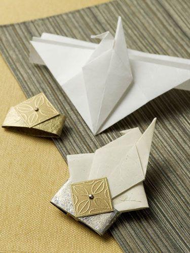 Origami Crane Card Video Tutorial Origami Pinterest Origami